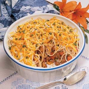 Busy Day Spaghetti Dinner Recipe