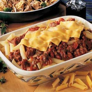Mom's Mostaccioli Recipe