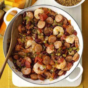Creole Shrimp & Sausage Recipe