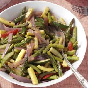 Sauteed Spring Vegetables Recipe