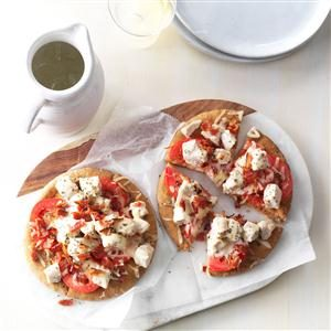 Chicken Ranch Flatbreads