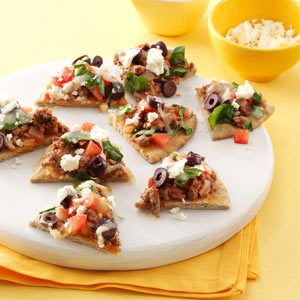 Mini Mediterranean Pizza Recipe