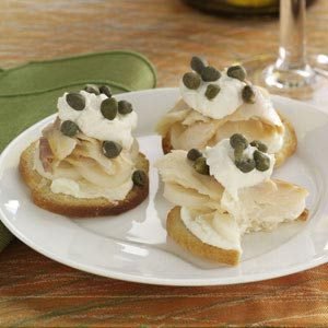Smoked Trout & Hearts of Palm Bites Recipe
