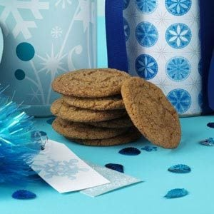 Triple-Ginger Gingersnaps Recipe