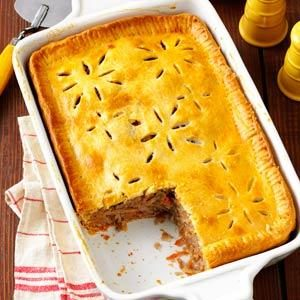 Finnish Meat Pie Recipe