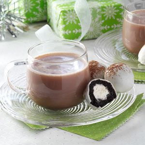 Hot Chocolate Cake Balls