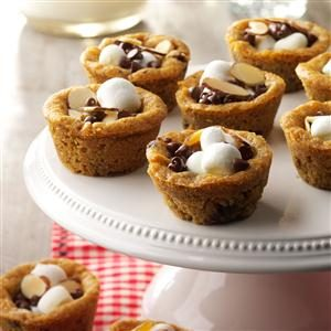 Rocky Road Cookie Cups Recipe