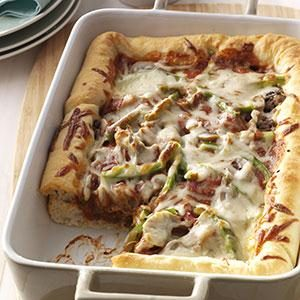 Deep-Dish Pizza Recipe