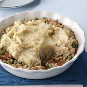 French Onion Turkey Shepherd's Pie Recipe