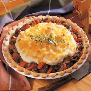 Meat and Potato Pie Recipe