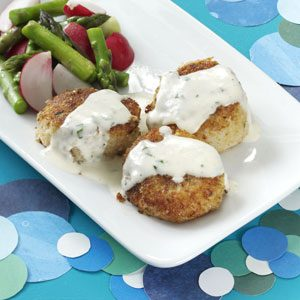 Crispy Scallops with Tarragon Cream Recipe
