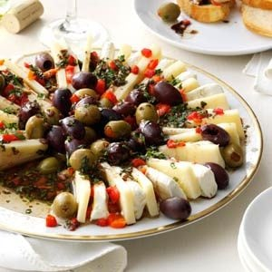 Marinated Olive & Cheese Ring Recipe