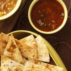 Caribbean Chips with Apricot Salsa Recipe