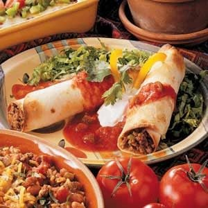 Green Chili Flautas Recipe