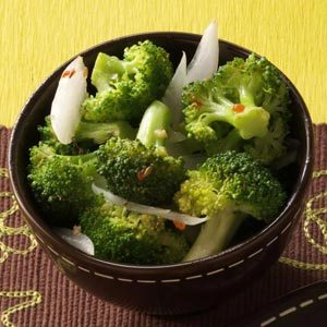 Italian Dressed Broccoli Recipe