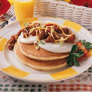 Enchilada Pancakes Recipe