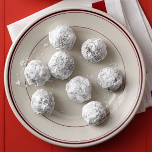 Holiday Rum Balls Recipe