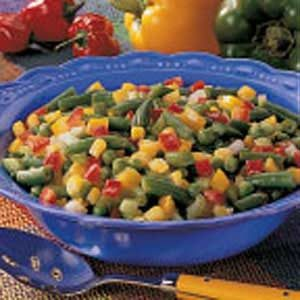 Fiesta Vegetable Salad Recipe