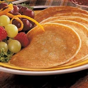 Golden Pancakes Recipe