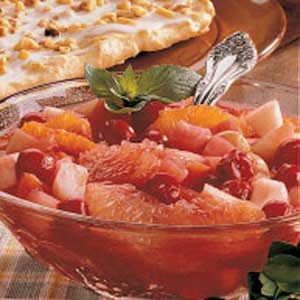 Saucy Fruit Medley Recipe