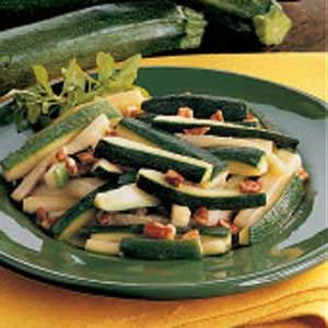 Zucchini with Pecans Recipe