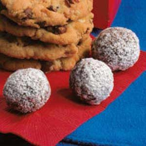 Chocolate Nut Balls Recipe