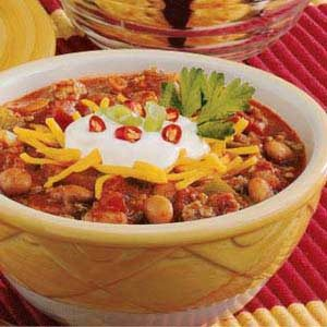 Heartwarming Beef & Pork Chili Recipe