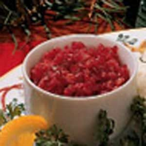No-Cook Cranberry Relish Recipe