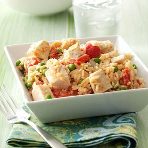 Chicken & Rice Skillet Recipe