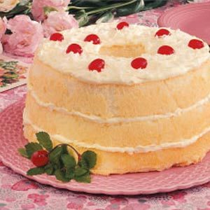 Pineapple Angle Food Torte Recipe