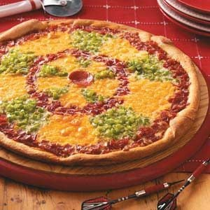Dartboard Pizza