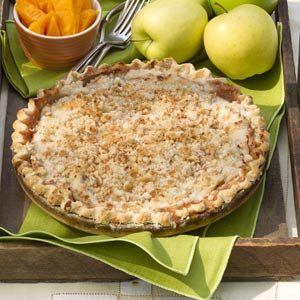 Crumb Topped Apple Pie Recipe