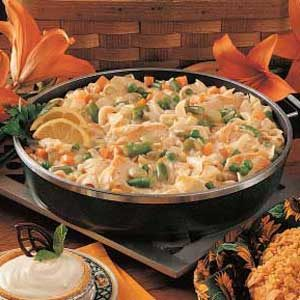 Hearty Turkey Noodle Stew Recipe