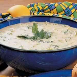Cheesy Broccoli Soup Recipe
