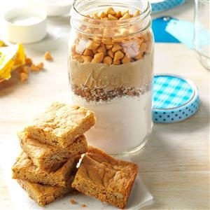 Butterscotch Brownie Mix Recipe