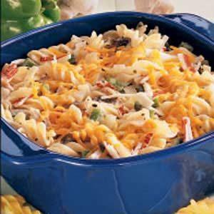 Pasta Crab Casserole Recipe photo by Taste of Home