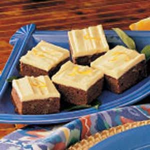 Orange Brownies Recipe