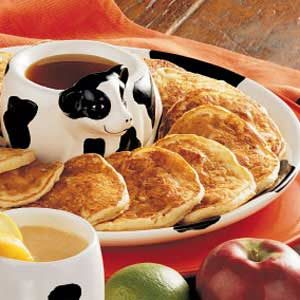 Apple Ham Hotcakes Recipe
