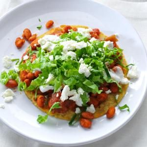 Pinto Bean Tostadas Recipe