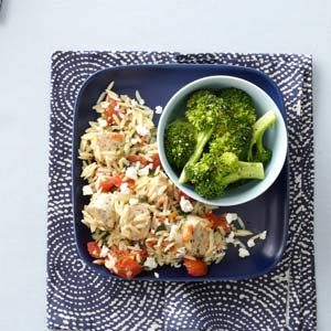 Italian Chicken Sausage and Orzo Recipe
