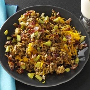 Bacon Cheeseburger Rice Recipe