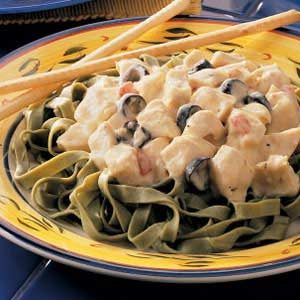 Creamy Chicken Fettuccine Recipe