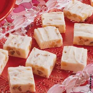 Nutty White Fudge Recipe