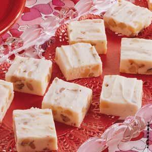 Nutty White Fudge Recipe