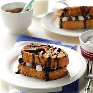 Watch Us Make: S'mores Stuffed French Toast