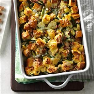 Vegetable Strata Recipe