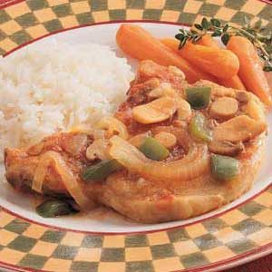 Pork Chop Dinner Recipe