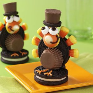 Turkey Pilgrim Cookies Recipe