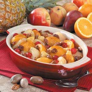 Home-For-Christmas Fruit Bake Recipe
