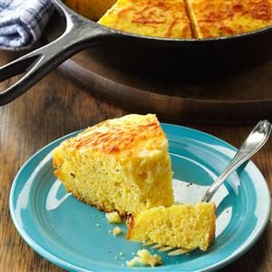 Herb & Olive Oil Corn Bread Recipe